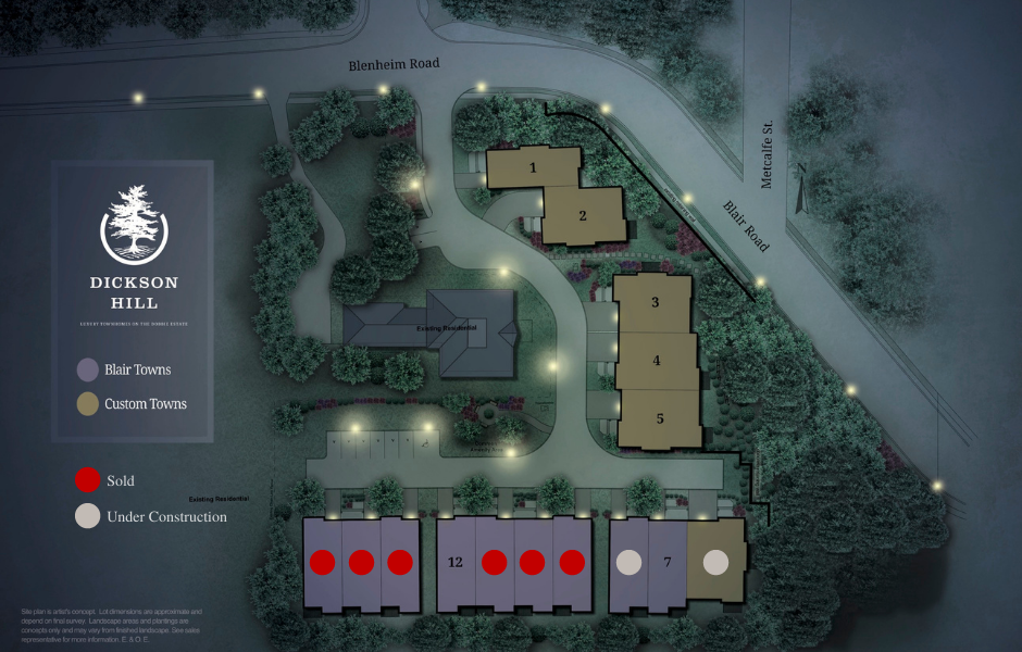 Dickson Hill Site Plan